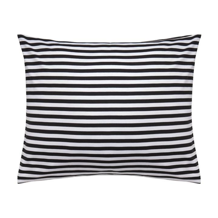 Marimekko - Tasaraita pillow cover 80 x 80 cm, black / white