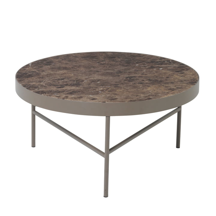 ferm Living - Marble Table large, brown
