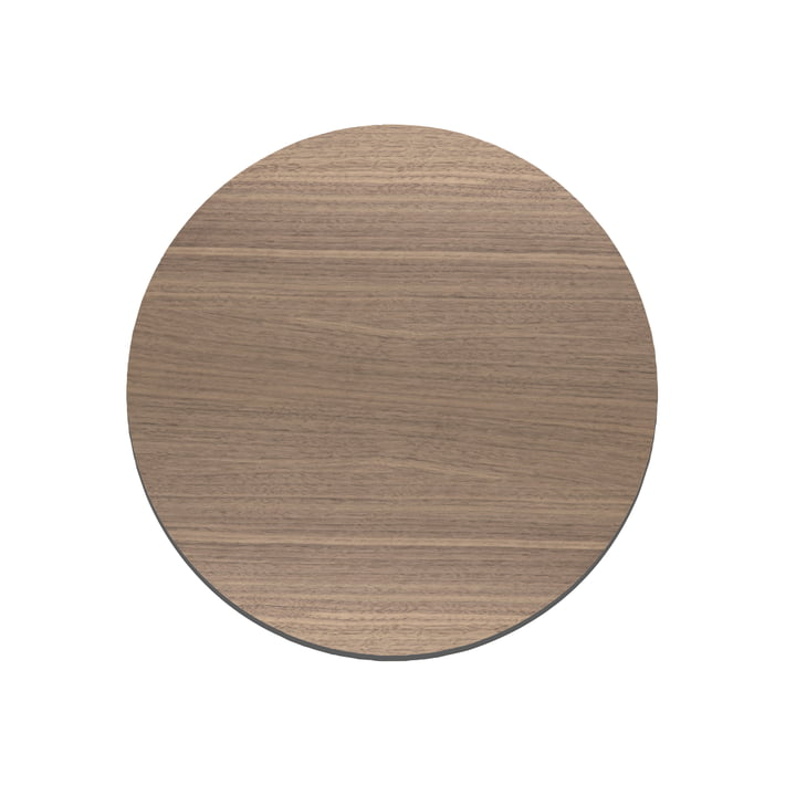 Cut&Serve Circle Chopping Board S Ø 24 cm by LindDNA in Walnut