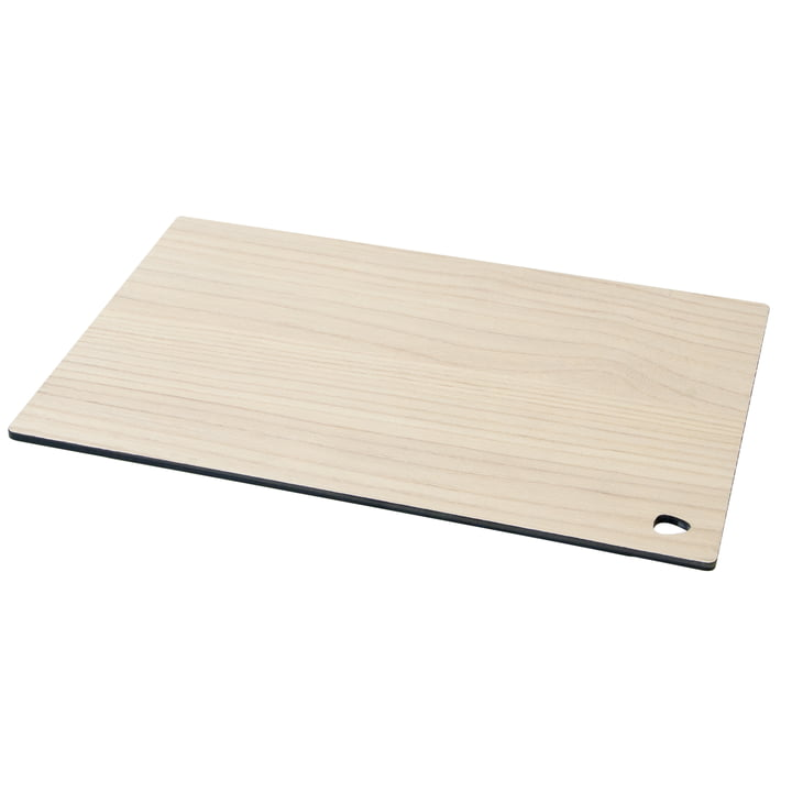 Cut&Serve Chopping Board Square L 29 x 35 cm by LindDNA in Ash