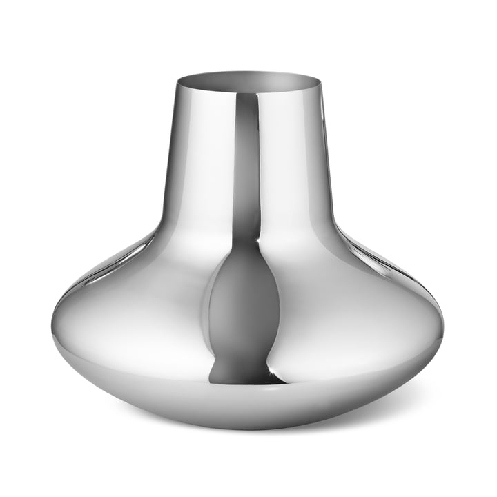 The Georg Jensen - Henning Koppel Vase, Large, Polished Stainless Steel