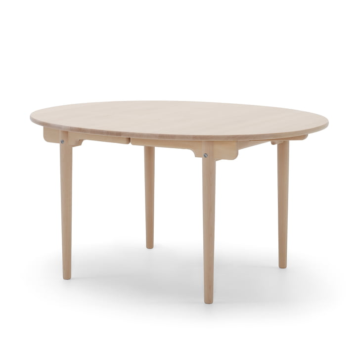 Carl Hansen - CH337 extendable dining table, 140 x 115 cm, oak soaped