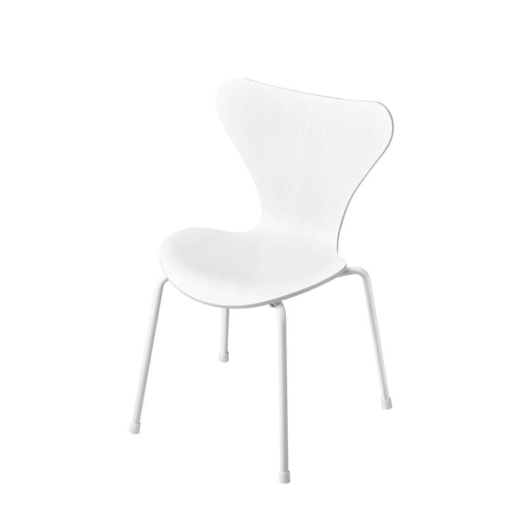 Fritz Hansen - Series 7 Children's Chair, Monochrome White