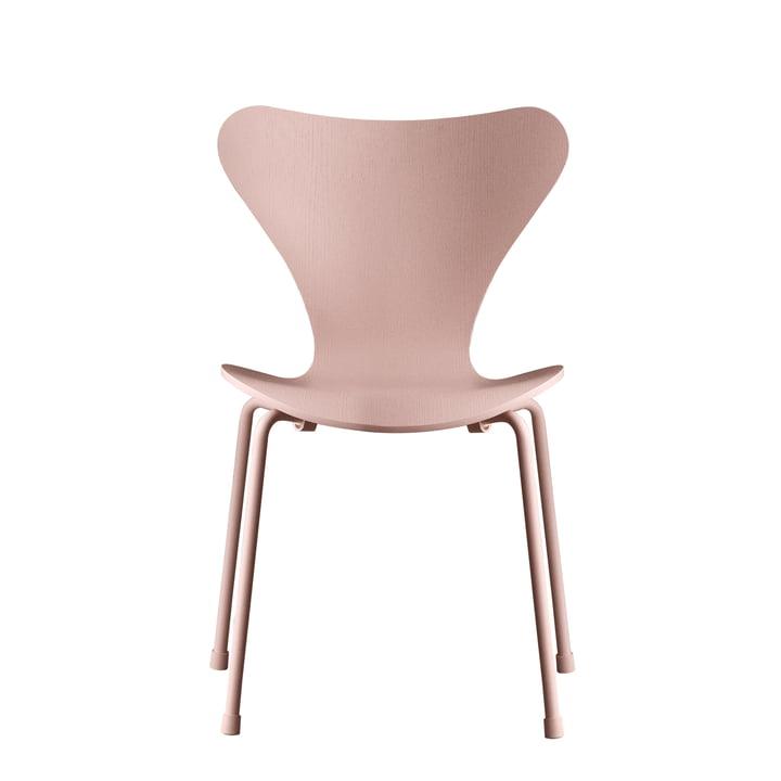 Fritz Hansen - Series 7 Children's Chair, Monochrome Pink