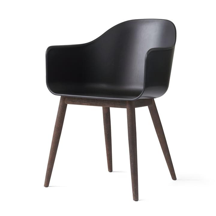 The Harbour Chair by Menu in Dark Oak / Black