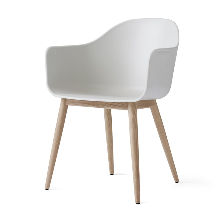 The Harbour Chair by Menu in Natural Oak / White