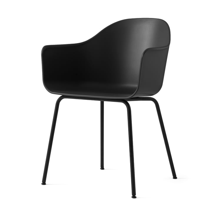 Harbour Chair (Steel) by Menu in Black