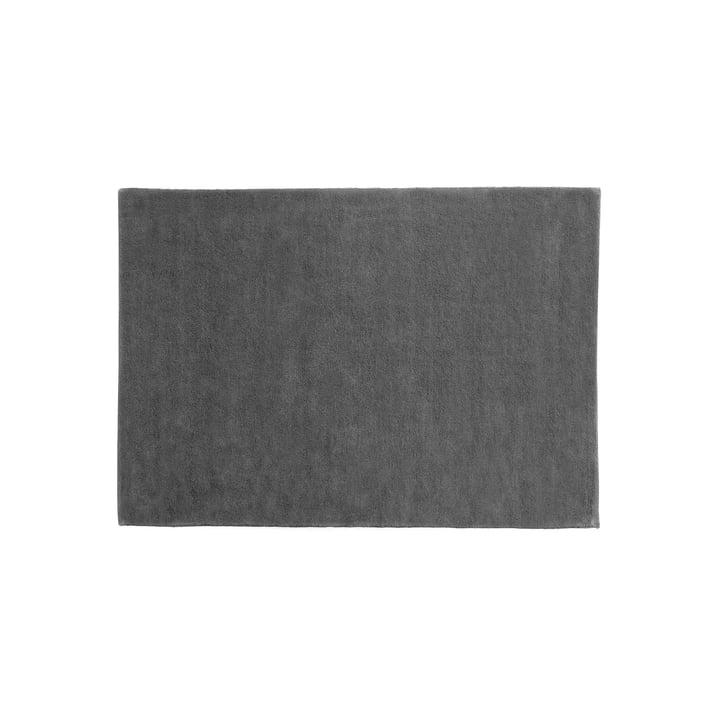 The Hay - Raw Rug 2, 140 x 200 cm, Dark Grey