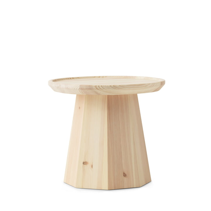 Normann Copenhagen - Pine Side Table Ø 45 x H 40.6 cm, natural