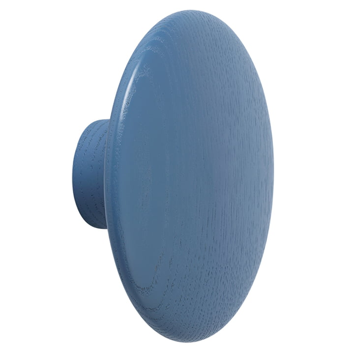 "Muuto - Wall hook ""The Dots"" single large, pale blue"