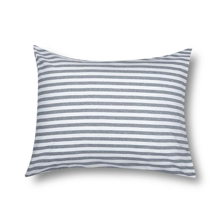 Marimekko - Tasaraita pillow cover 65 x 65 cm, grey / white