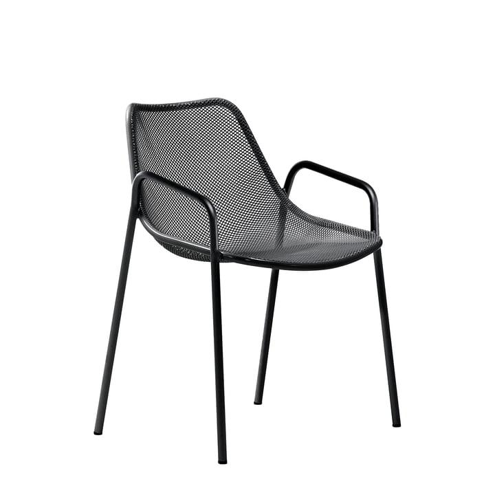 Emu - Round Armchair, black