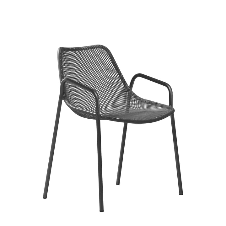 The Emu - Round Armchair, antique iron