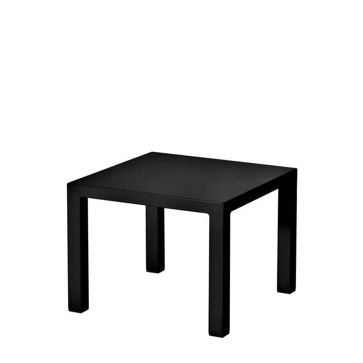 The Emu - Round Side Table H 42 cm, 45 x 45 cm, black