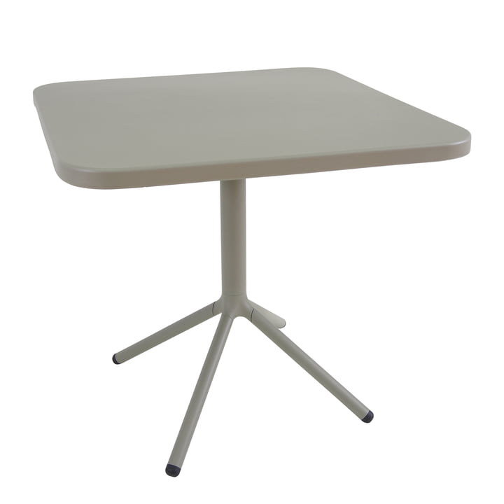 Emu - Grace Bistro Table H 74 cm, 70 x 70 cm, Grey-Green (37)