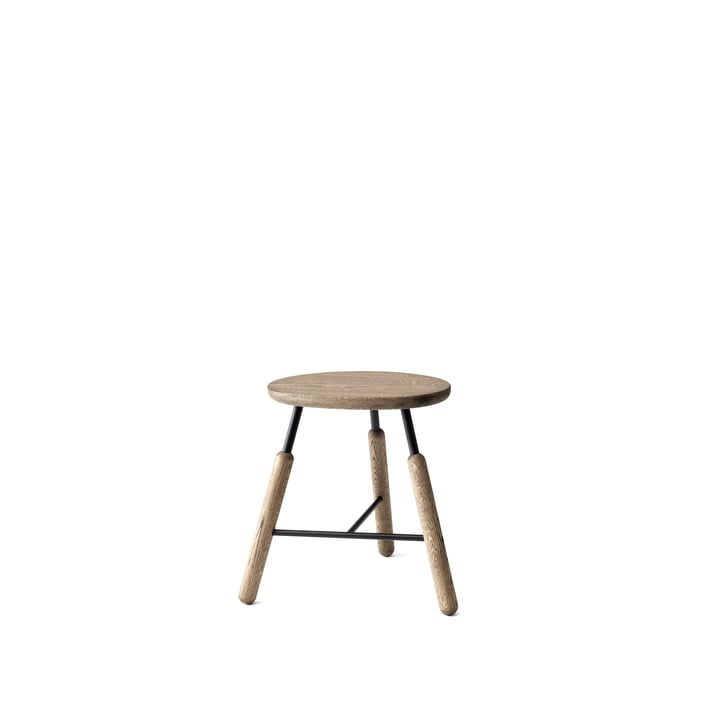 Norm NA3 stool H 46 cm from & Tradition smoked and oiled in oak