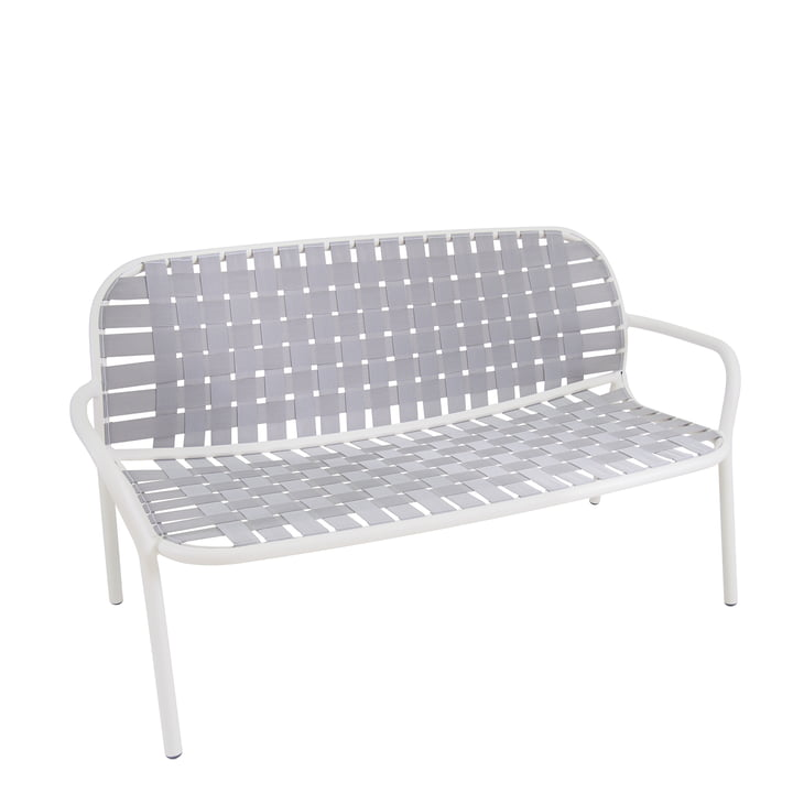 Yard Loungesofa from Emu in white / grey