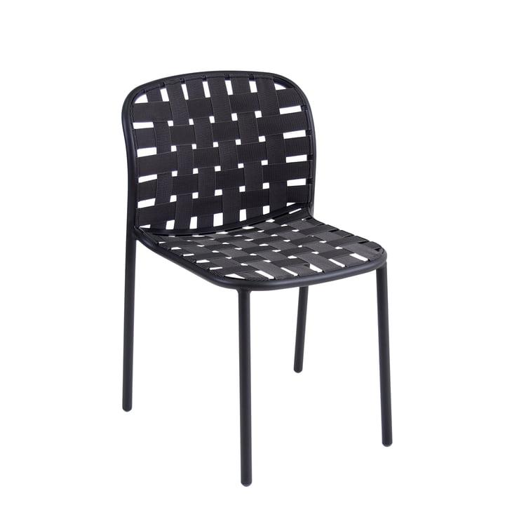 The Emu - Yard Chair, black / grey