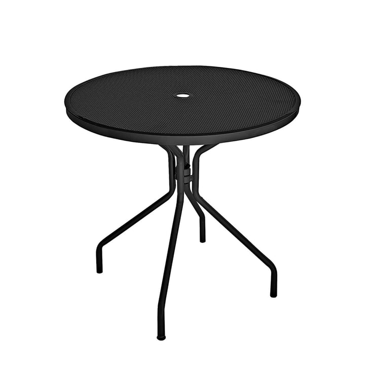 Cambi table Ø 80 cm from Emu in black