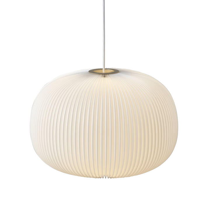 Le Klint - Lamella 1 Pendant Lamp, gold / white