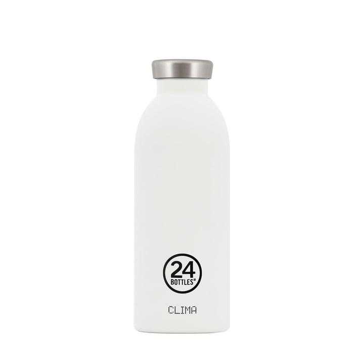 24Bottles - Clima Bottle 0.5 l, white