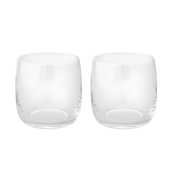 Foster Water glass 0,2 l set of 2 from Stelton made of glass