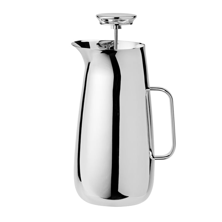 Foster Stainless steel press filter pot and tea maker from Stelton