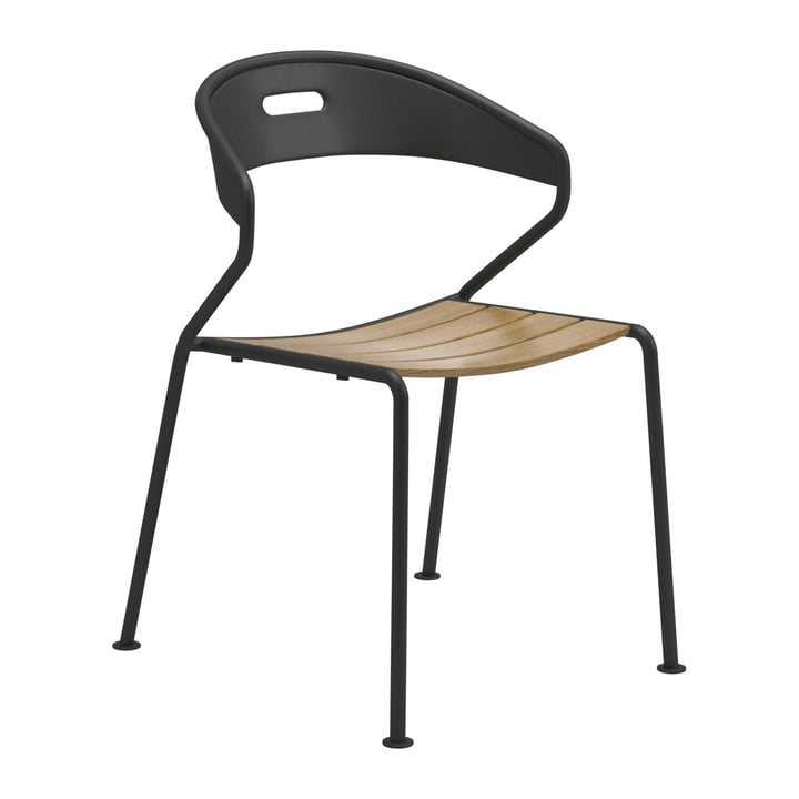Gloster - Curve Chair, Teak / Meteor