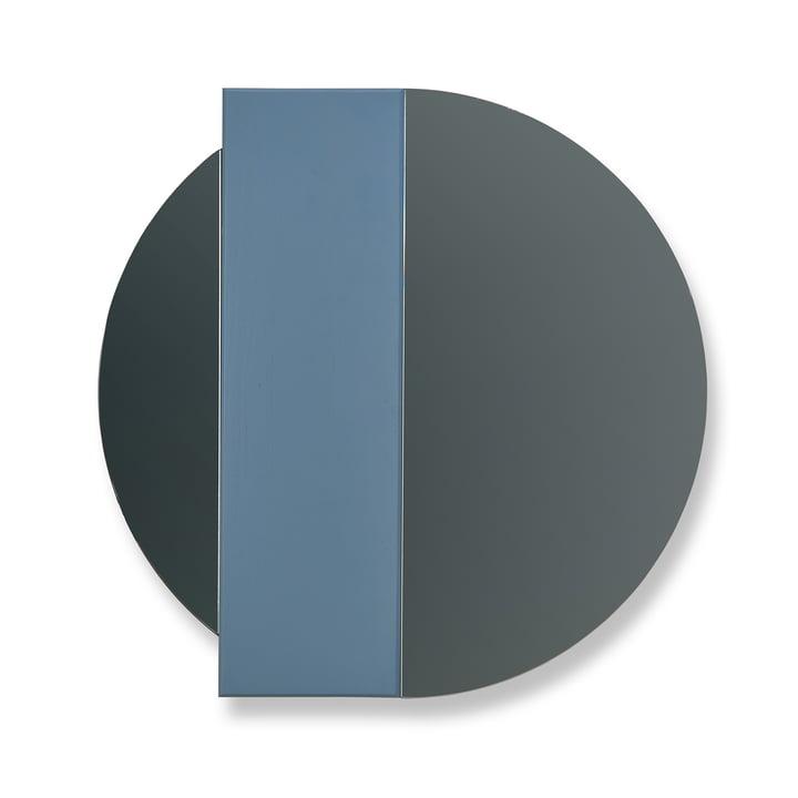 Hartô - Charlotte Wall Mirror by Hartô in Blue / Grey Mirror Glass