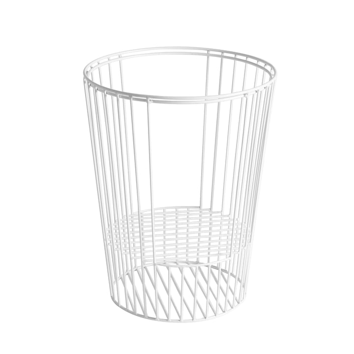 Hartô - Basket for Ernestin Table and Magazine Holder in White