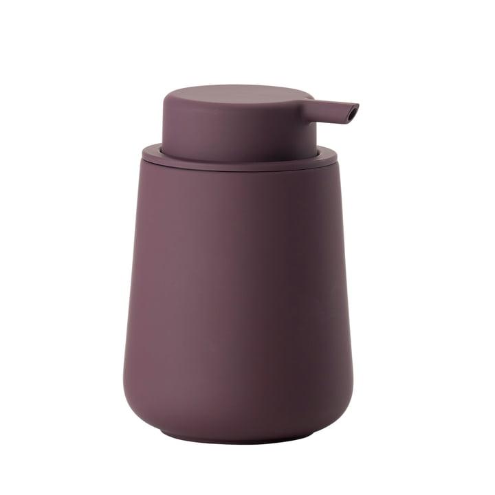 Nova One Soap Dispenser by Zone Denmark in Velvet Purple