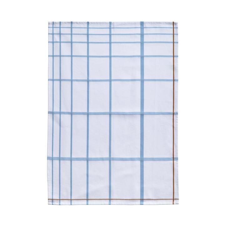 Tea Towel 70 x 50 cm by Zone Denmark in White / Blue