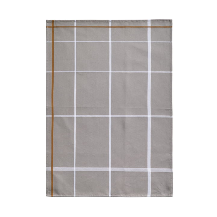 Tea Towel 70 x 50 cm by Zone Denmark in White / Grey