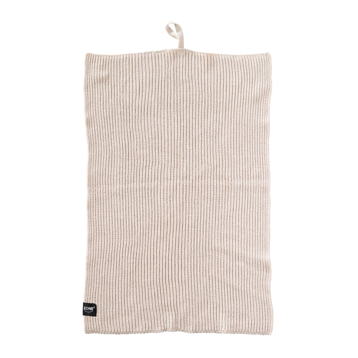 Kitchen Towel, 50 x 38 cm by Zone Denmark in Warm Grey