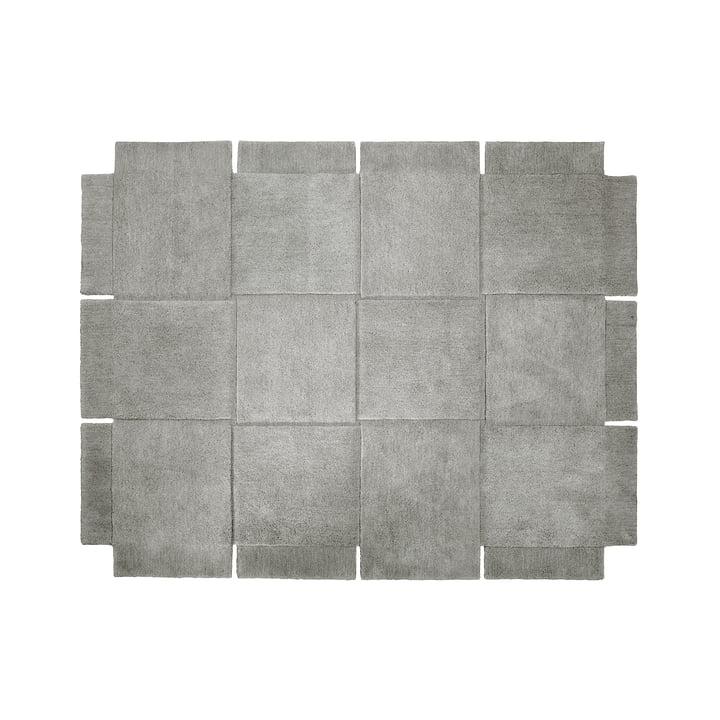 Design House Stockholm - Basket Rug 185 × 240 cm in Grey