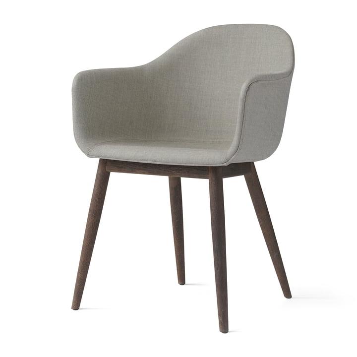 Menu - Harbour Chair (Wood), dark wood / Remix 233