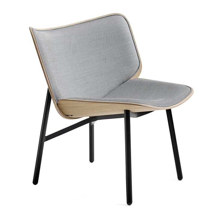 Dapper Lounge Chair by Hay in Surface 120 / matt lacquered oak / black