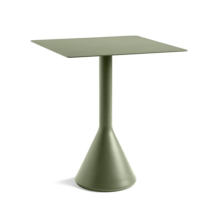 Palissade Cone Table Ø 65 x H 65 cm by Hay in Olive