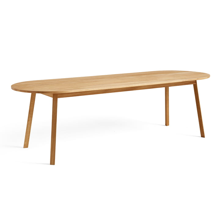 Triangle Leg Dining Table 200 x 85 cm by Hay in Oiled Oak