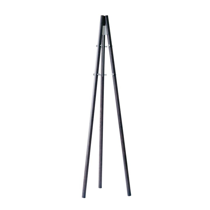 Der Artek - Kiila Clothes Stand in Natural Ash / Stone White