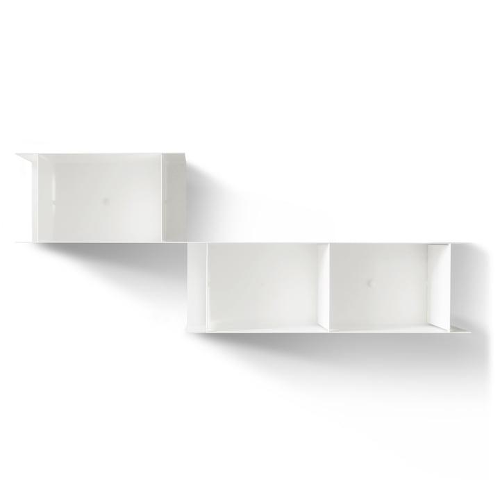 The vonbox - Blurry Wall Shelf, white (RAL 9016)