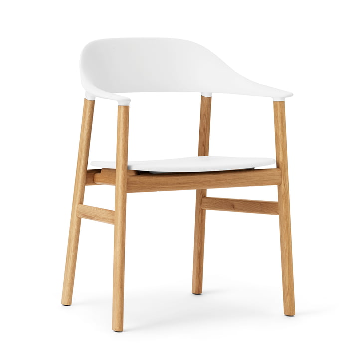 Normann Copenhagen - Herit Armchair, oak / white