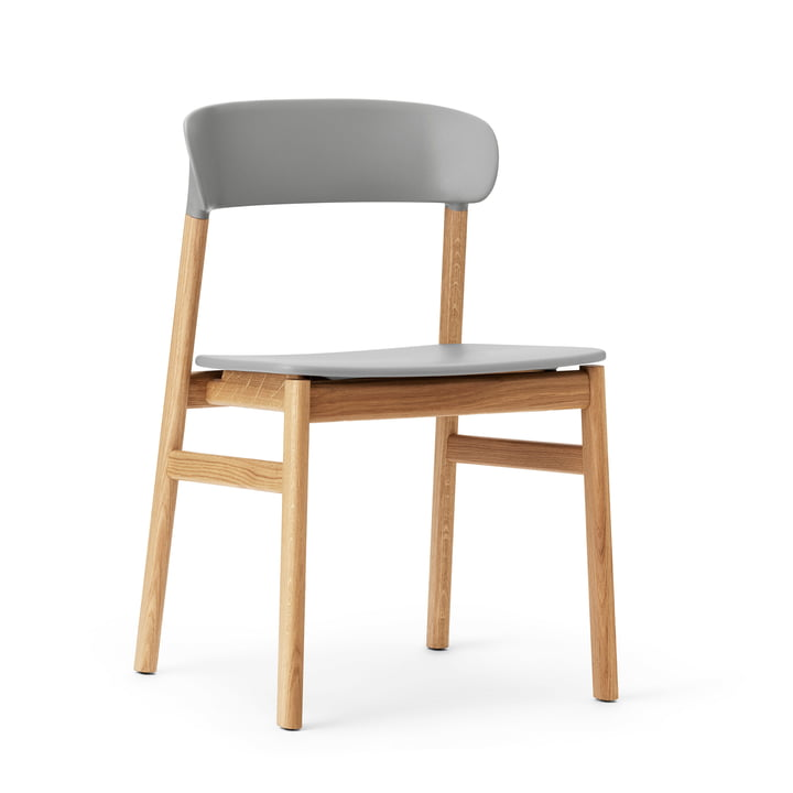 Normann Copenhagen - Herit Chair, oak / grey