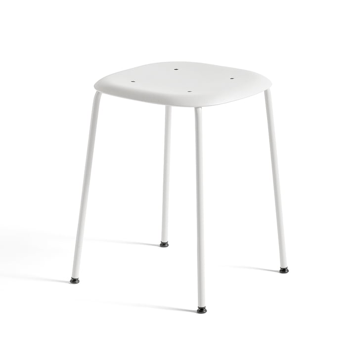 Soft Edge P70 Stool by Hay in White