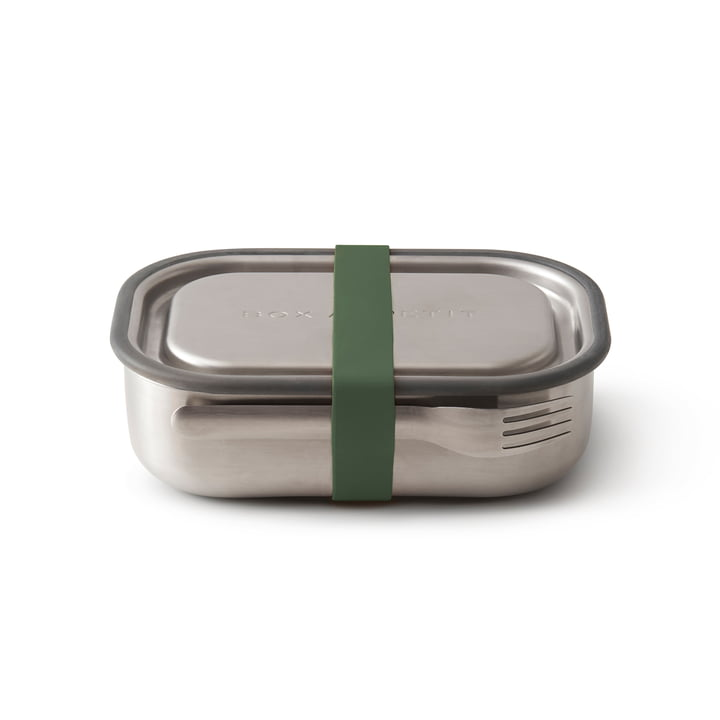 The Black + Blum - Stainless Steel Lunch Box in Olive