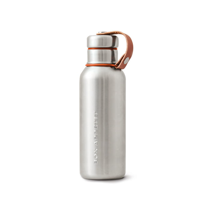 The Black + Blum - Stainless Steel Insulated Water Bottle, 0.5 l, orange