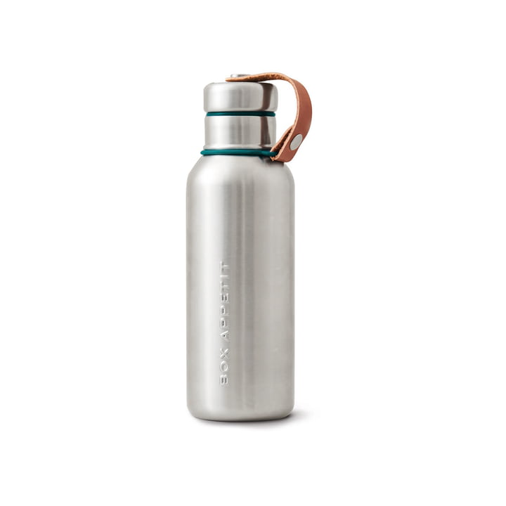 The Black + Blum - Stainless Steel Insulated Water Bottle, 0.5 l, ocean