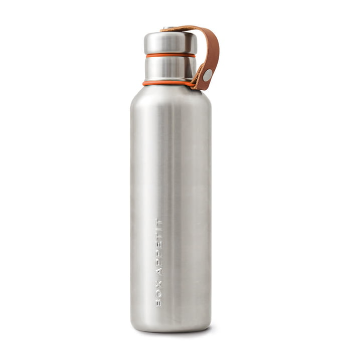 The Black + Blum - Stainless Steel Insulated Water Bottle, 0.75 l, orange