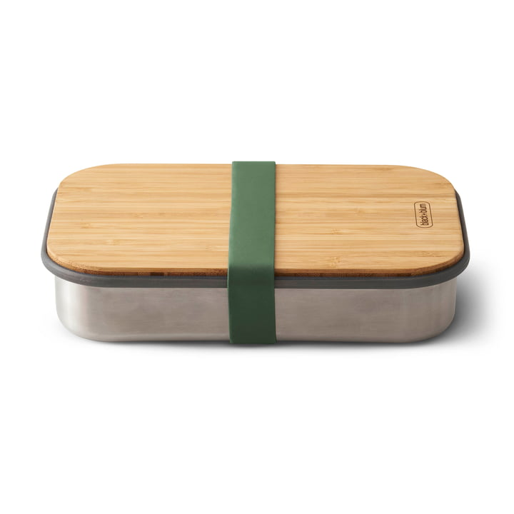 Stainless Steel Sandwich Box by Black + Blum in Olive