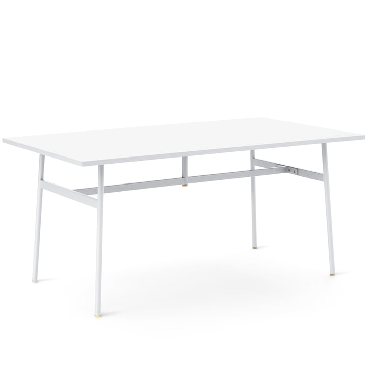 Normann Copenhagen - Union Dining Table, 160 x 90 cm, white
